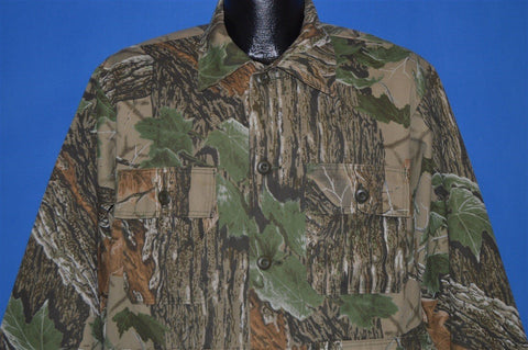 90s Realtree Camouflage Hunting Jacket Medium