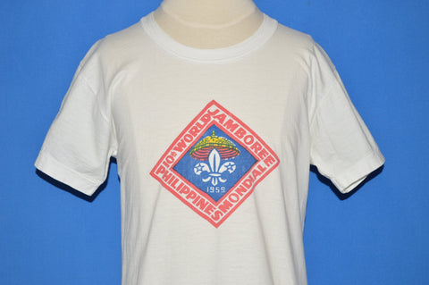 50s 10th World Jamboree Boy Scouts t-shirt Youth Large