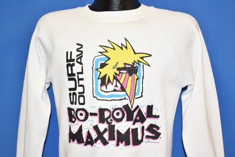 80s Surf Outlaw Bo-Royal Maximus Sweatshirt Youth Extra Large