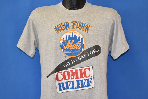 90s New York Mets Go To Bat For Comic Relief t-shirt Medium