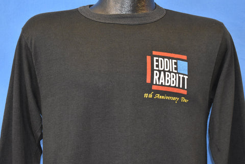 80s Eddie Rabbitt 10th Anniversary Tour t-shirt Small