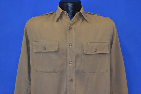40s US Army Officer Uniform Shirt Small