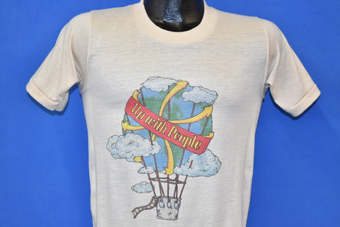 80s Up With People Educational Organization t-shirt Small