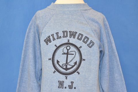 80s Wildwood New Jersey Tourist Sweatshirt Youth Medium