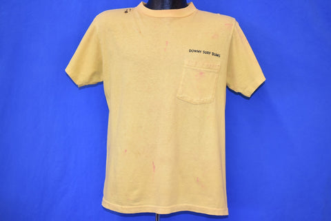 70s Downy Surf Bums Funny Distressed t-shirt Large