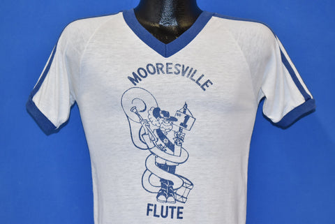 80s Mooresville #1 Flute V-Neck t-shirt Extra Small