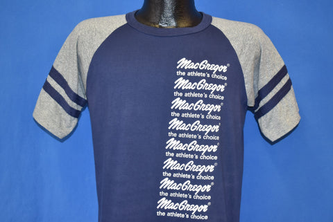 80s MacGregor The Athlete's Choice Striped Jersey t-shirt Medium
