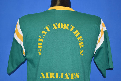 70s Great Northern Airlines Alaska Jersey t-shirt Medium