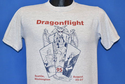 90s Dragonflight RPG Convention 1995 Seattle t-shirt Small