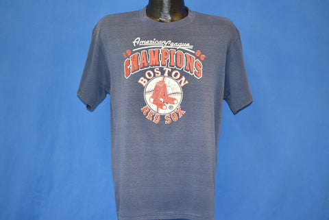 80s Boston Red Sox American League Champs 1986 t-shirt Large