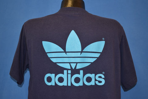 90s Adidas Trefoil Logo Double-Sided t-shirt Large