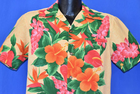 60s Mark Christopher Hawaii Aloha Shirt Medium