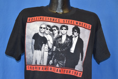 80s Rolling Stones Steel Wheels Tour t-shirt Large
