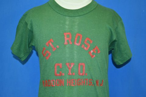 50s St. Rose C.Y.O. Haddon Heights NJ t-shirt Youth Large