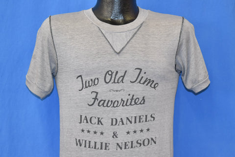 80s Jack Daniels Willie Nelson t-shirt Extra Small