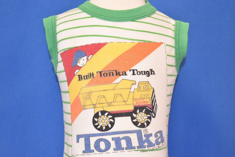 80s Tonka Built Tough Sleeveless t-shirt Baby 18-24 Months