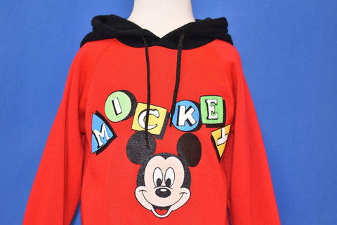 90s Mickey Mouse Hooded Sweatshirt Toddler 3T