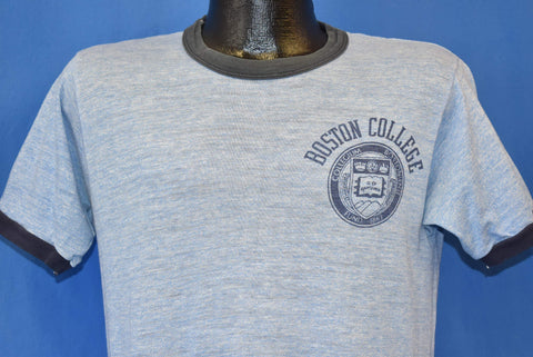 80s Boston College Rayon Tri Blend t-shirt Medium