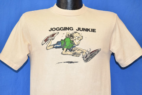 70s Jogging Junkie Funny t-shirt Small