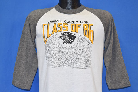 80s Carroll County High Class of 86 t-shirt Medium