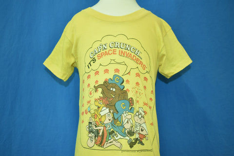 80s Space Invaders Cap'n Crunch t-shirt 2T