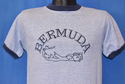 70s Bermuda Tourist Ringer t-shirt Small