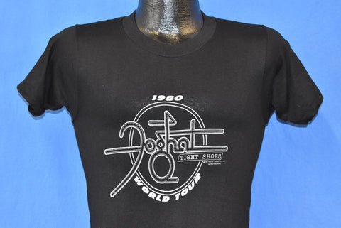80s Foghat Tight Shoes World Tour t-shirt Extra Small