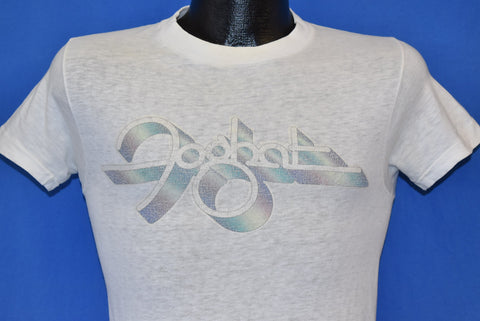 70s Foghat Rainbow Print Distressed t-shirt Extra Small