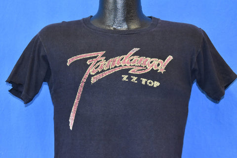 70s ZZ Top Fandango Album Distressed t-shirt Small