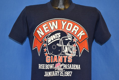 80s New York Giants Super Bowl XXI Champs t-shirt Small