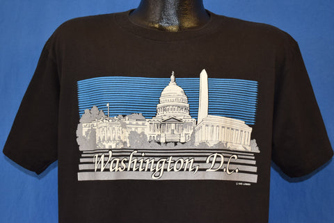 80s Washington DC Monuments t-shirt Large