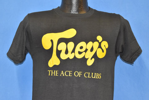 70s Tuey's Ace of Clubs Summer '79 Stanton Anderson t-shirt Small