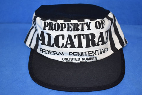 80s Alcatraz Property of Federal Penitentiary Painters Snapback Hat