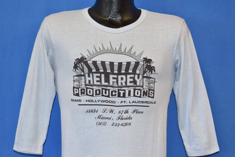 70s Helfrey Productions Miami FL t-shirt Extra Small