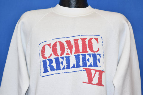 90s Comic Relief VI Comedy Benefit Sweatshirt Extra Large