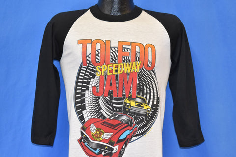 80s Toledo Speedway Jam Reo Speed Wagon Foghat t-shirt Small
