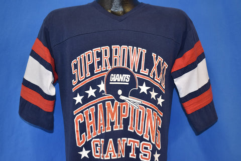 80s New York Giants Super Bowl XXI Champs t-shirt Medium