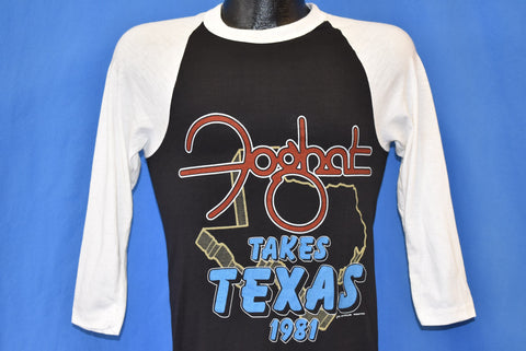 80s Foghat Takes Texas 1981 Rock and Roll Tour t-shirt Small