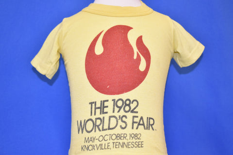 80s World's Fair 1982 Knoxville Tennessee t-shirt 12-18 mo