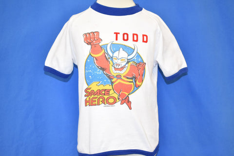 70s Ultraman Taro Space Hero Todd Ringer t-shirt Toddler 4T