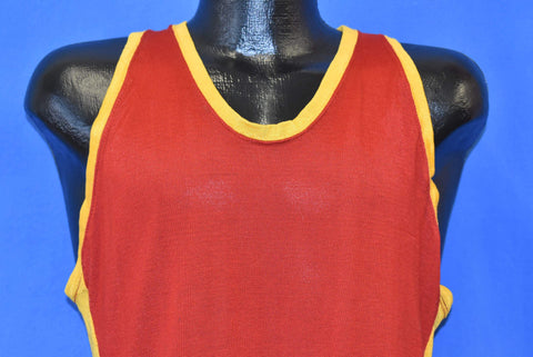 60s Wilson Basketball Jersey Blank Sleeveless t-shirt Small