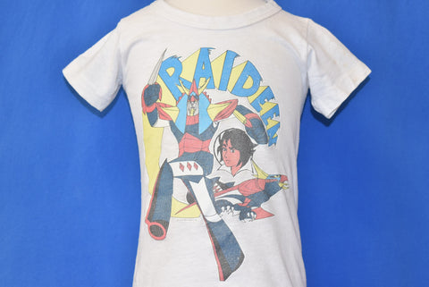 70s Brave Raideen Japanese Anime Mecha t-shirt 12-18 Months