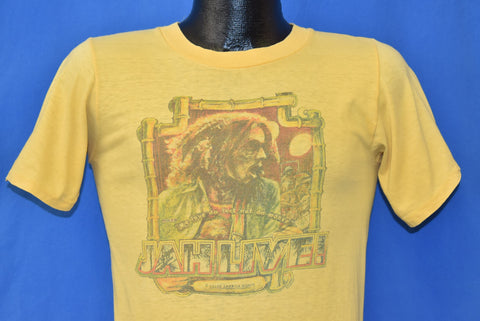 70s Bob Marley Jah Live Me Love Da Feel t-shirt Small