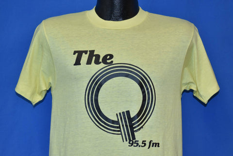 80s The Q 95.5 FM Rock Radio Station t-shirt Medium