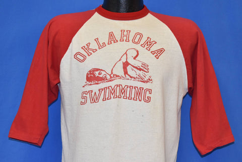 70s Oklahoma Swimming Wet Dreams Become Reality t-shirt Medium