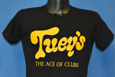 70s Tuey's Ace of Clubs Summer '79 Stanton Anderson Band t-shirt Small