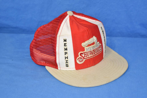 80s Memphis Showboats USFL Football Mesh Trucker Hat