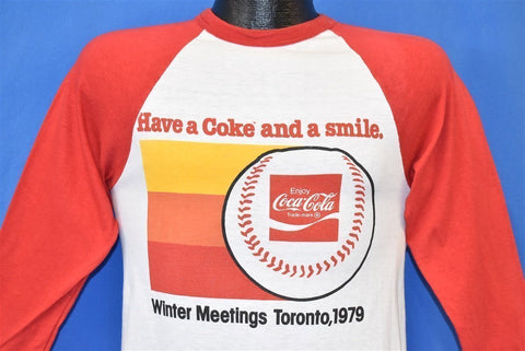 70s MLB Winter Meetings Toronto Coca-Cola t-shirt Small