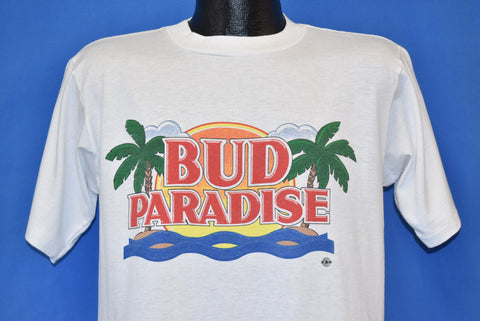 90s Bud Paradise Sunset Beer t-shirt Large