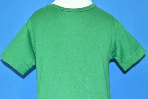 70s Green Blank Cotton t-shirt Toddler 3T